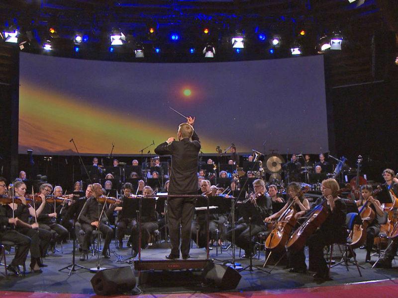 Space Night in Concert II mit Dirigent Patrick Hahn © Archiv des BR