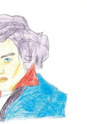 Beethoven räumt auf © Vincent