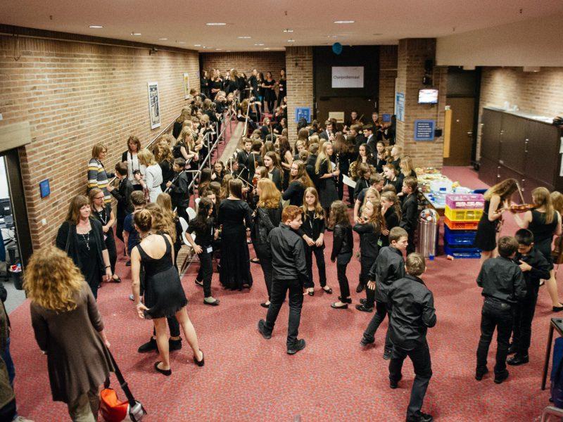 Backstage im Münchner Gasteig (c) Julia Müller