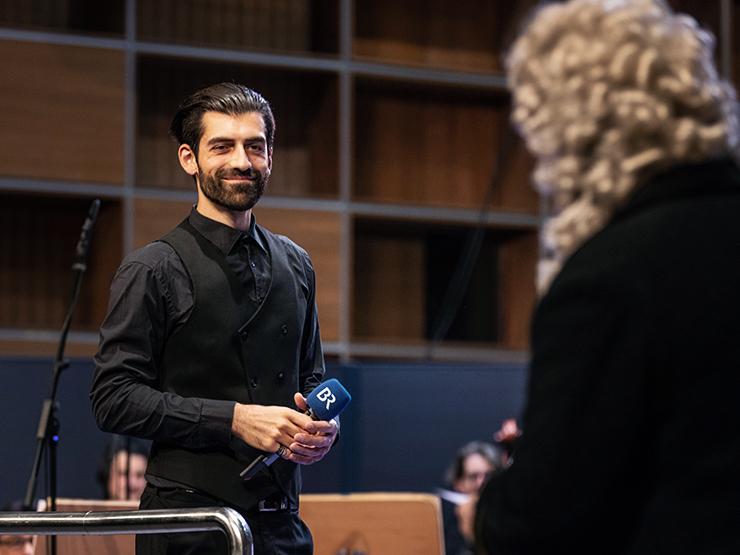 """4. Klassik zum Staunen 2020/2021 """"Mit Händel durch Europa"""", Ltg. Ektoras Tartanis (Credit BR/Markus Konvalin)"""