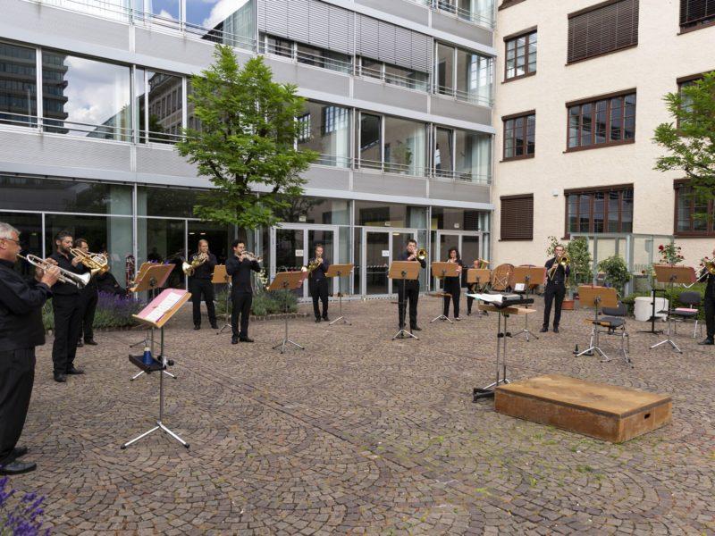 Innenhofkonzert Münchner Rundfunkorchester © BR\Michaela Jung