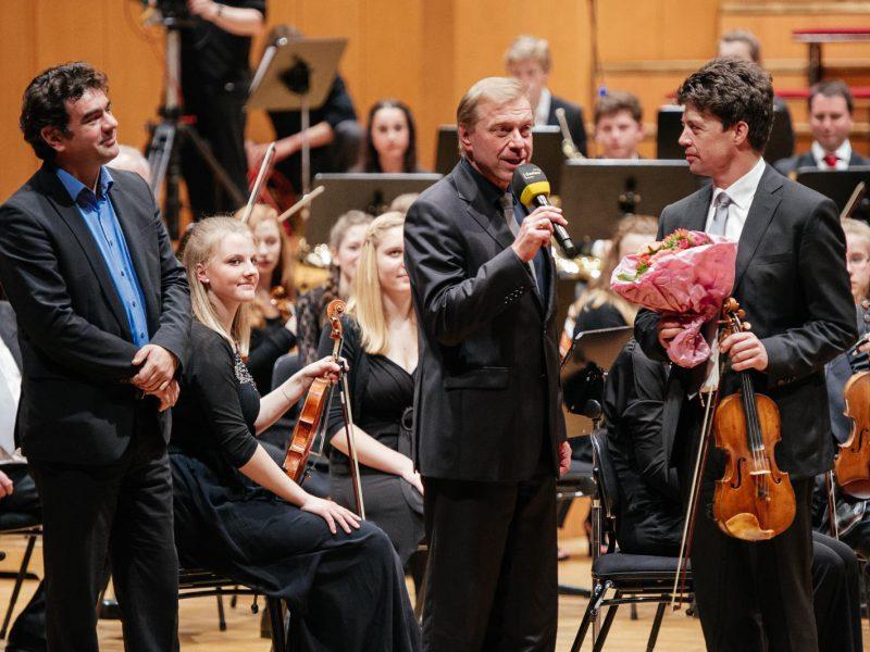 Perfekte Einstudierung durch Olivier Tardy (li.) und Ulrich Graba (c) Julia Müller