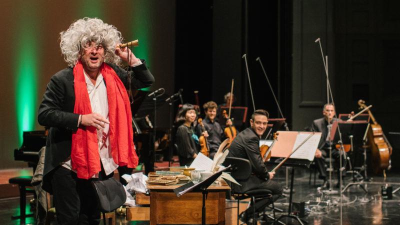 Beethoven räumt auf © Johanna Schlüter