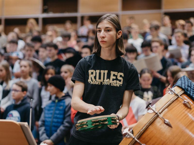 Klasse Klassik, Probenphase Feb. 2020 (C) Lisa Hinder