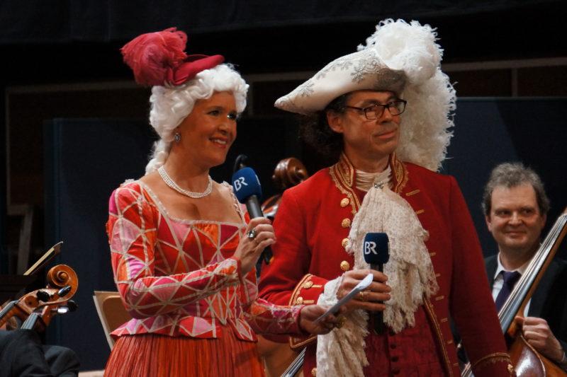 Franziska Stürz, Stefan Frey bei der Verleihung des Operettenfroschs 2016 © BR\Florian Lang