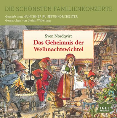 CD-Cover Weihnachtswichtel