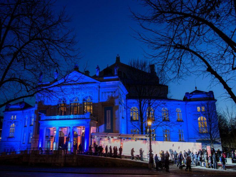 Verleihung des Bayerischen Filmpreises 2017. Gala am 19. Januar 2018 im Prinzregententheater (dpa / Matthias Balk)
