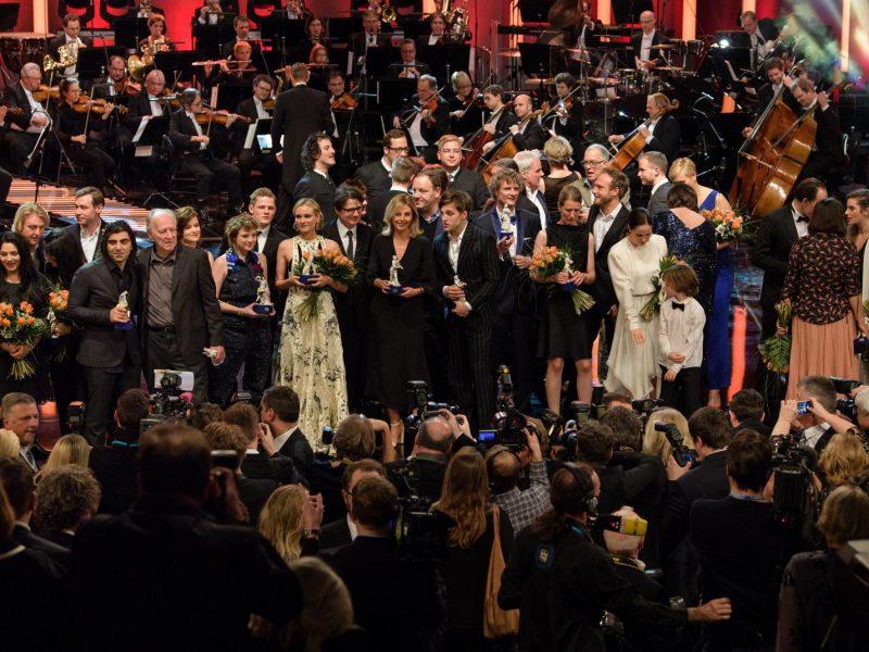 Verleihung des Bayerischen Filmpreises 2017. Gala am 19. Januar 2018 (dpa / Matthias Balk)
