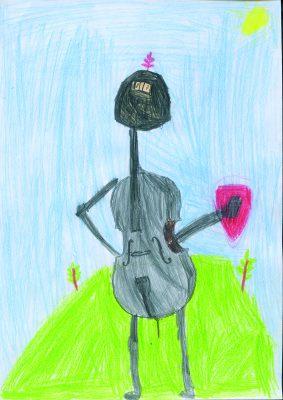 Zeichnung von Niklas Halpape, 8 Jahre (Grundschule Hohenkammer),