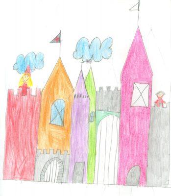 Zeichnung von Klara Kupfer (Grundschule Jenaer Straße München), Klasse 3b