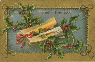 Christmas Postcard Wikimedia Commons