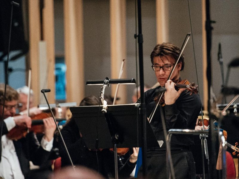 Konzert Paradisi gloria mit Solist Henry Raudales im März 2017 (C) Julia Müller