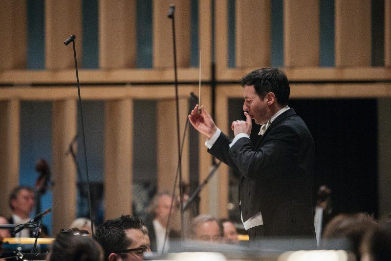 Konzert Paradisi gloria mit Ivan Repušić im März 2017 (C) Julia Müller