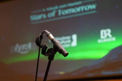 Stars of tomorrow - Mikrofon (c) BR/Florian Lang