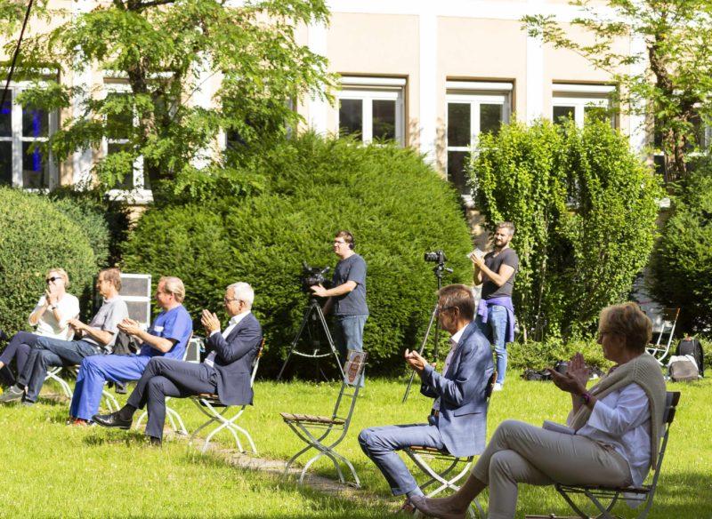 Dankeschön-Konzert im Juni 2020 (cropped; Credit BR/Michaela Jung)