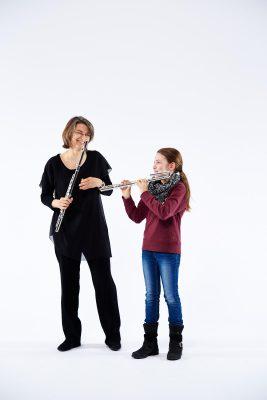 Christiane Dohn mit ihrer Tochter (C) Denis Pernath