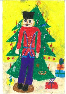 Zeichnung von Lina (2. Klasse)