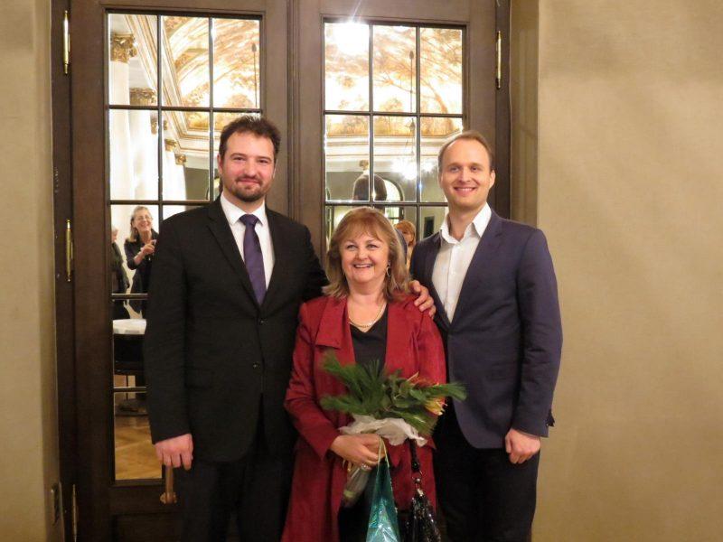 Edita Gruberová bei Mittwochs um halb acht 2015 (Archiv des BR)