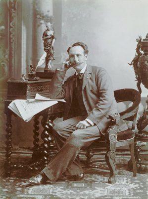 Fernand de La Tombelle, 1890 (Wikimedia Commons Public Domain)