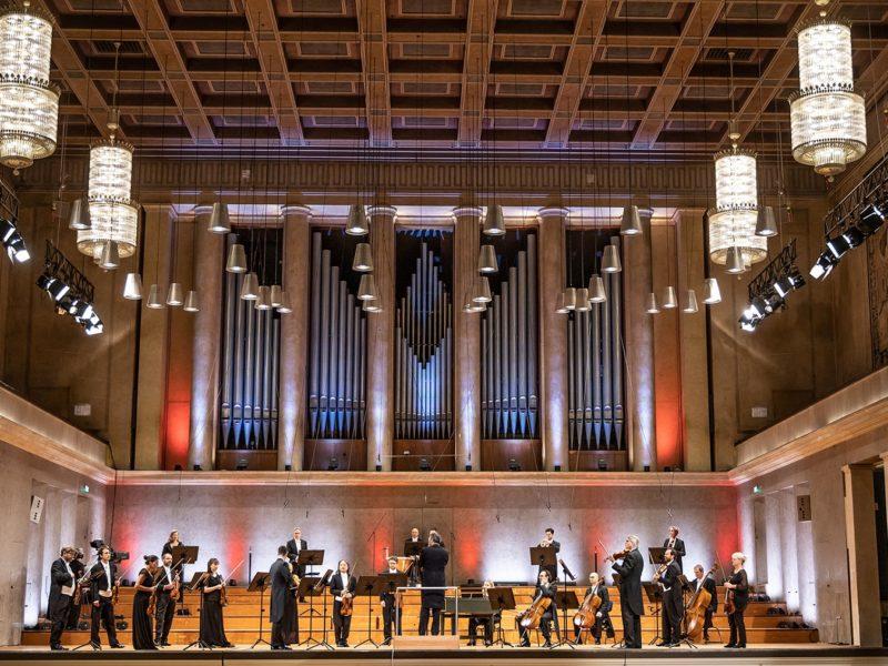 Festkonzert des Münchner Rundfunkorchesters zur Übergabe der EU Ratspräsidentschaft von Kroatien an Deutschland (Credit BR/Markus Konvalin)