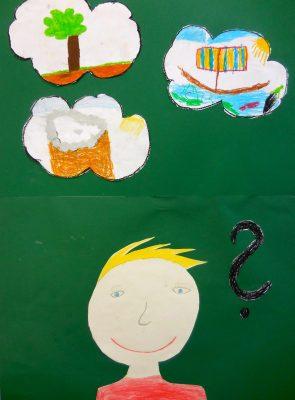 Der Teufel mit den drei goldenen Haaren (Lorena, Jonas, Sebastian und Felix, Grundschule Wolfersdorf)