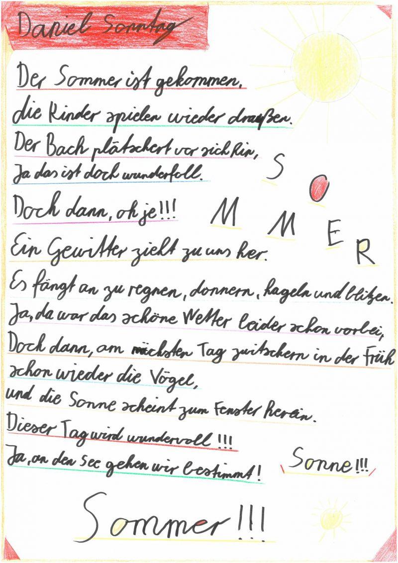 Vivaldi-Experiment, Gedicht von Daniel