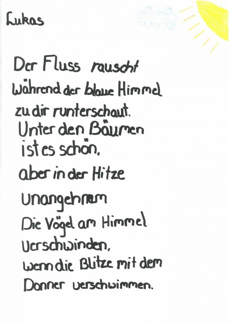 Vivaldi-Experiment, Gedicht von Lukas