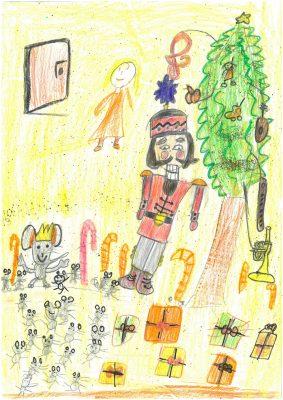 Zeichnung von Maya (2. Klasse)