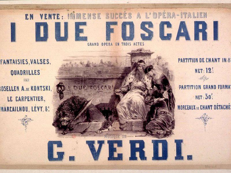 I due Foscari (Bibliothèque municipal de Lyon)