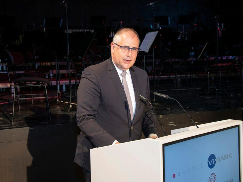 ICMA 2021 Manfred Bischof, Bürgermeister von Vaduz_© Albert Mennel