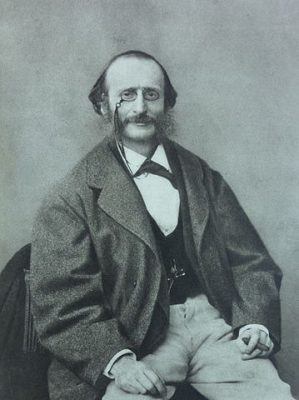 Jacques Offenbach (Wikimedia Commons Public Domain)