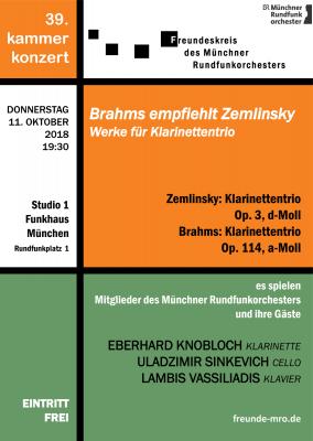 Brahms empfiehlt Zemlinsky