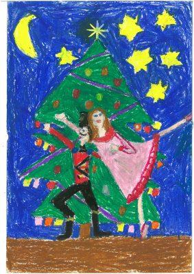 Zeichnung von Antonia (2. Klasse)