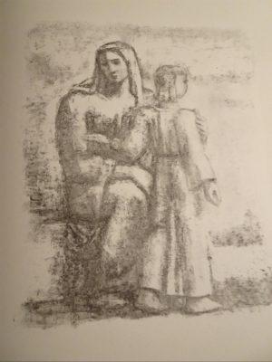 Le miroir de Jésus_Illustration von Karl Walser (Archiv des BR)
