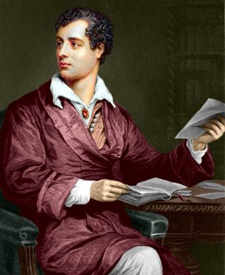 Lord Byron, 1873 (Wikimedia Commons Public Domain)