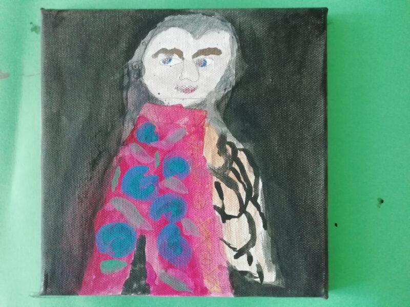Mozart-Bild von Zoi, 10 Jahre