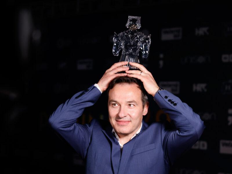 Ivan Repusic bei der Verleihung des Porin 2021 in Zagreb (Credit Matej Grgić & Marko Šolić)