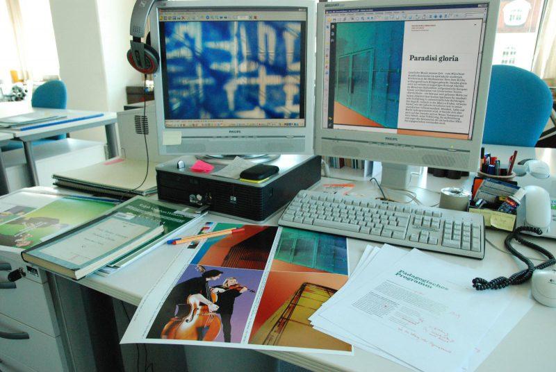 Programmheftredaktion (c) Alexander Heinzel