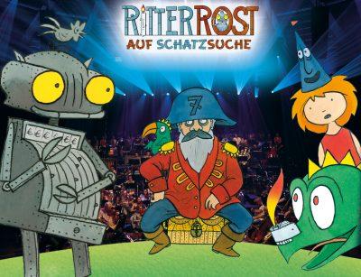 Ritter Rost auf Schatzsuche (Archiv des BR)