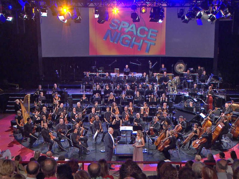 Space Night in Concert II am 2. Juli 2019 (Archiv des BR)