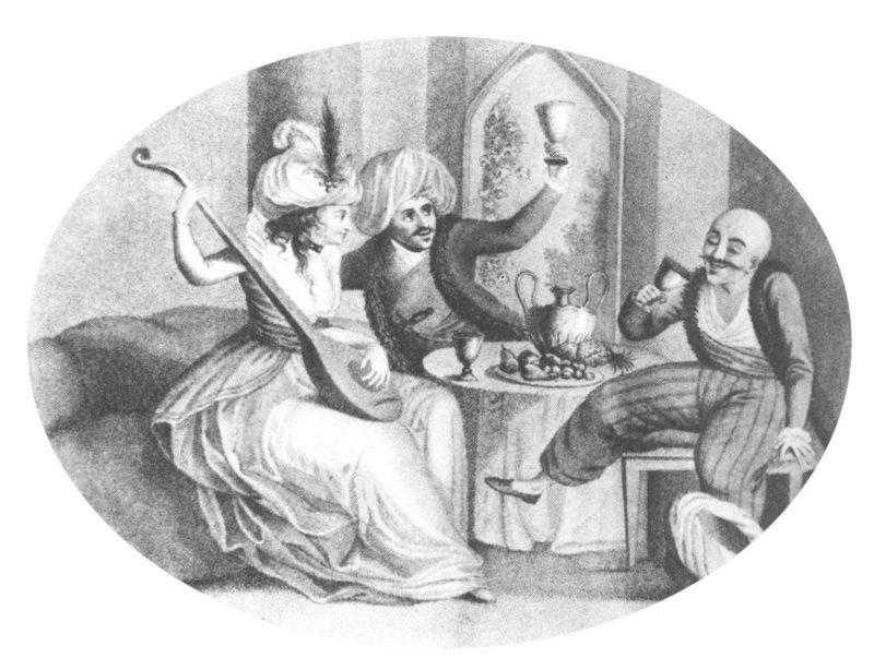 Türkische Impression (aus F. Gabrieli, Mohammed in Europa)