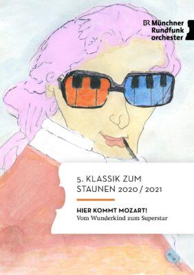 Titelbild Programmheft 5. Klassik zum Staunen 2020-2021 (Bild von Maurice, 6. Klasse)