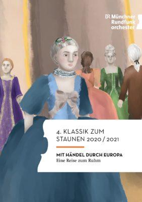 Titelseite Programmheft 4. Klassik zum Staunen 2020-2021