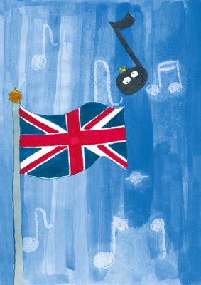 Very British! (Bild von Franz, Grundschule Bernried)