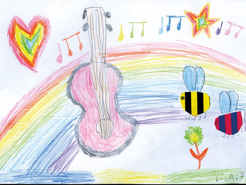 Very British! (Zeichnung von Lisa, 7 Jahre aus Nufringen)