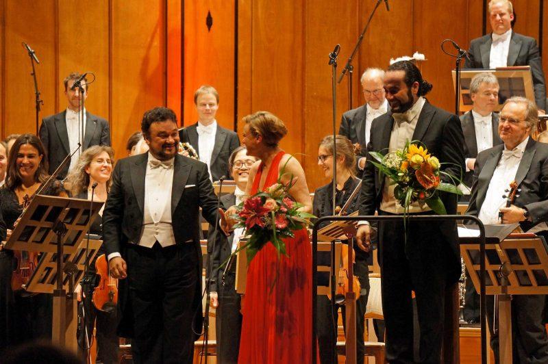 Vesselina Kasarova und Ramón Vargas, Kissinger Sommer 2017 (Credit Florian Lang)