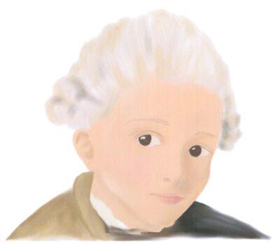 Zeichnung von Amelie, 9. Klasse