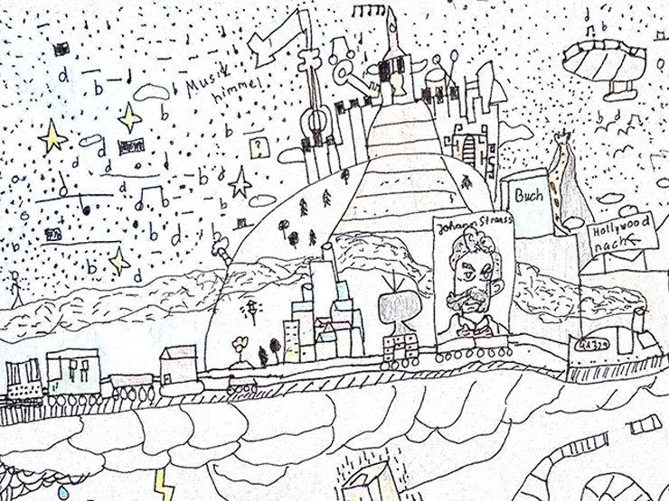 Zeichnung von Daniel, 11 Jahre