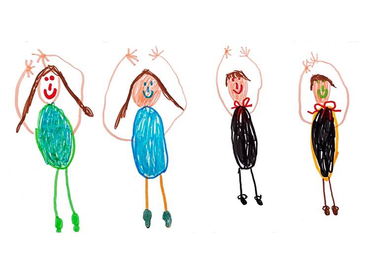 Zeichnung von Magdalena, 6 Jahre