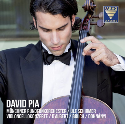 David Pia spielt Cellokonzerte